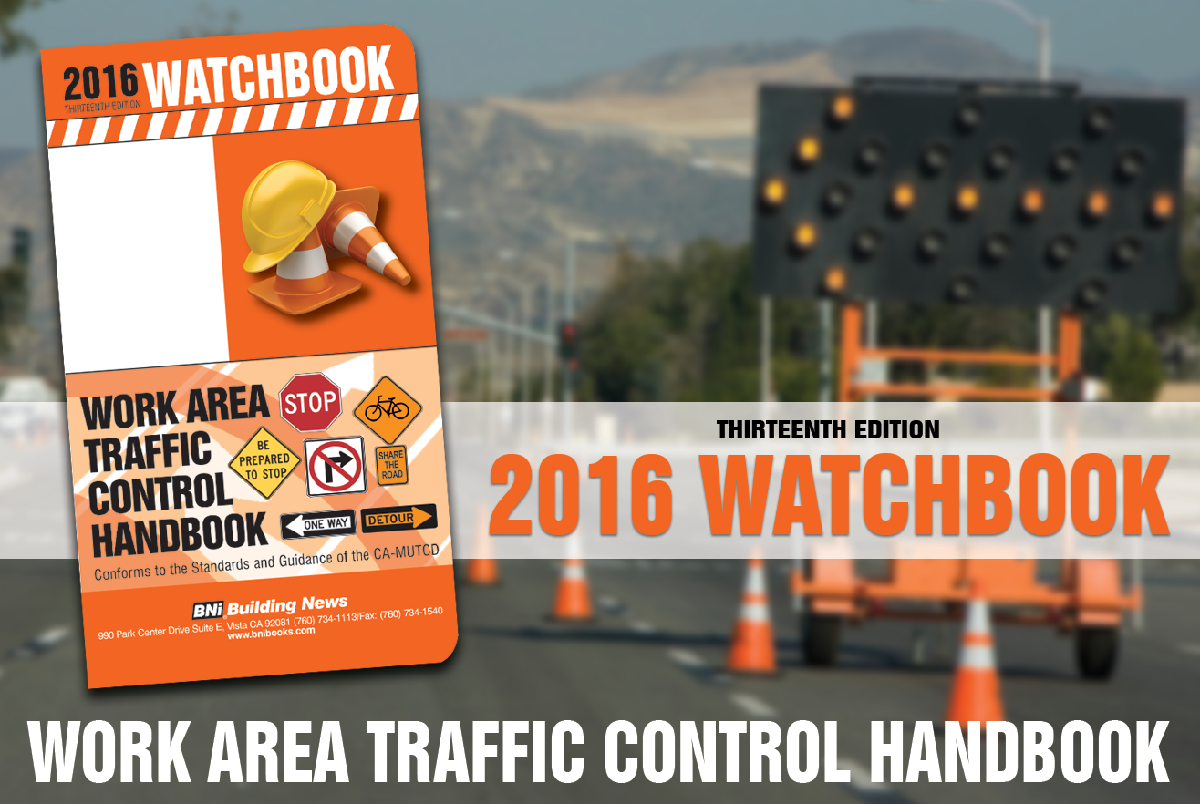 2016 Work Area Traffic Control Handbook
